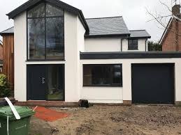 external rendering in wilmslow new build