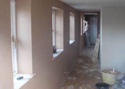internal plastering works